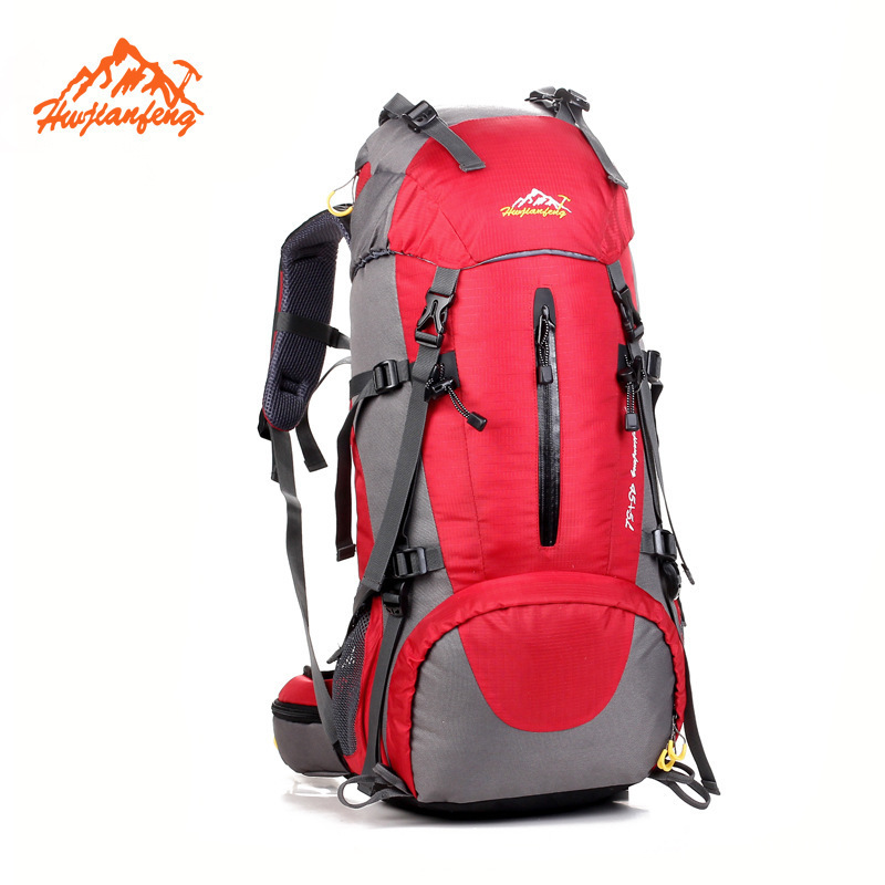 ФОТО 50L Outdoor Hiking Backpack Trekking Camping Travel Bags Pack Climbing Backpack Knapsack