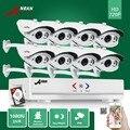 Anran plug & play hd 8ch ahd dvr 1 tb hdd 1800tvl 720 p impermeable Al Aire Libre 24 IR Día Visión Nocturna del CCTV del Hogar de Cámaras de Seguridad sistema