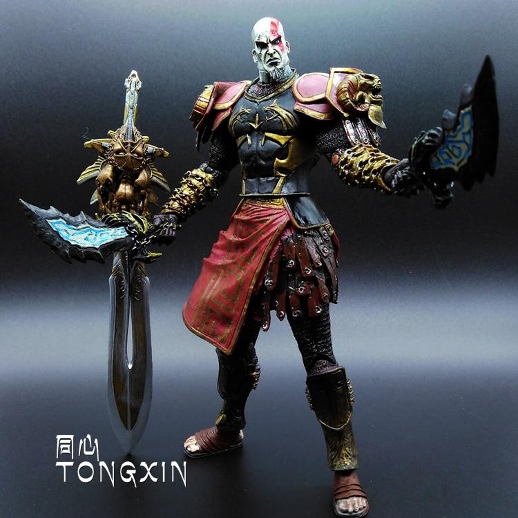 9inch God of War 2 Kratos Kratos Blade Knife Action Doll Model Decoration Gift NECA