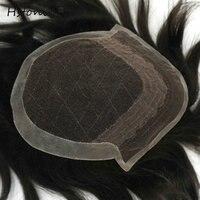 Afra Hair Custom Mens Hair Replacement Systems 100 Natural Hair Free Style Hair Black Men Hair