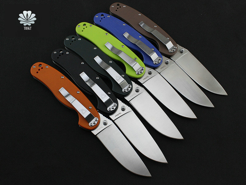 VOLTRON RAT 1 & RAT 2 Tactical Folding Knife Pocket Knives AUS-8 Blade G10, Camping Hunting Survival Knife Outdoor EDC Tools цена 2017