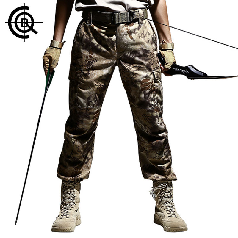CQB Outdoor Tactical Pants trekking trousers Hiking Pants Camping Men Pants Camouflage Pants Military Training Trousers CKZ0683 camo womens trekking leisure trousers outdoor military army combat tactical multi pocket hiking pants women pantalones mujer