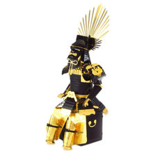3D Metal assembly model puzzles Japanese samurai armor Creative handmade toys NEW arrived(China)