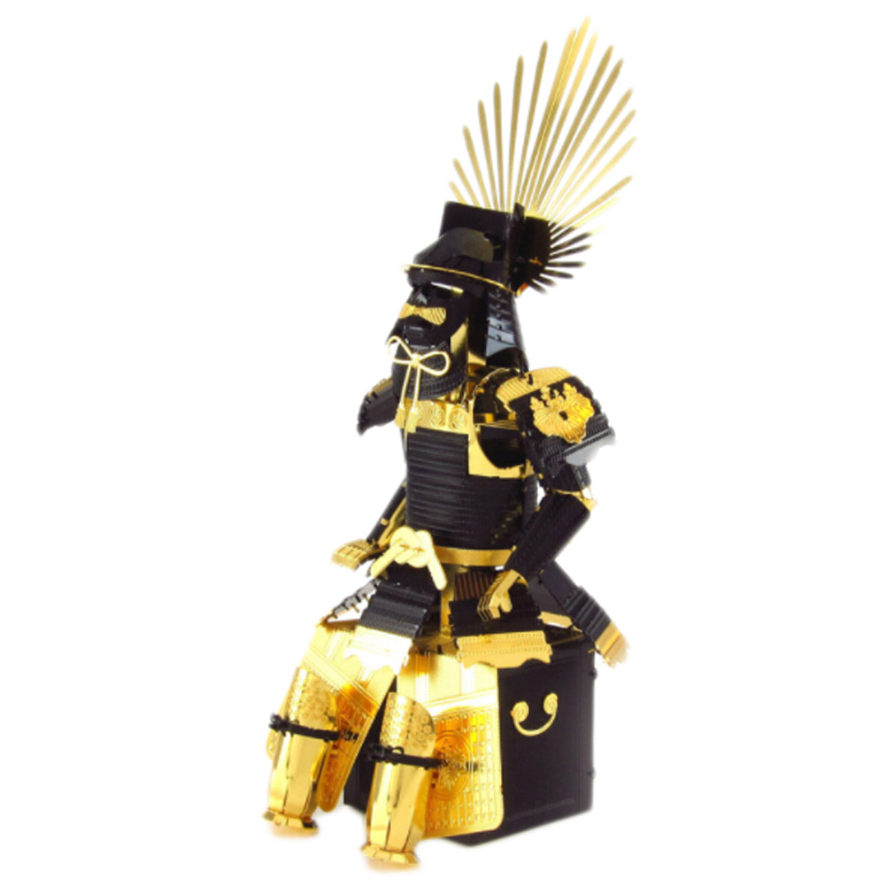 3D Metal assembly model puzzles Japanese samurai armor Creative handmade toys NEW arrived