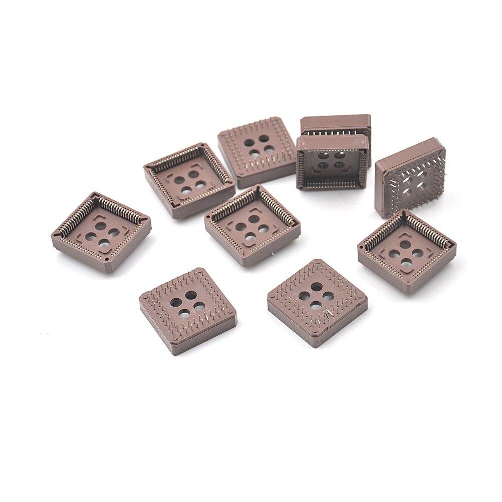 PLCC68 68 Pin 68Pin DIP IC Socket Adapter PLCC Converter 10PCS/Lot 10pcs lot pic12f508 i p dip 8 new original