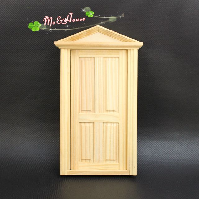1pcs Doll house mini furniture model diy door 80002 ...