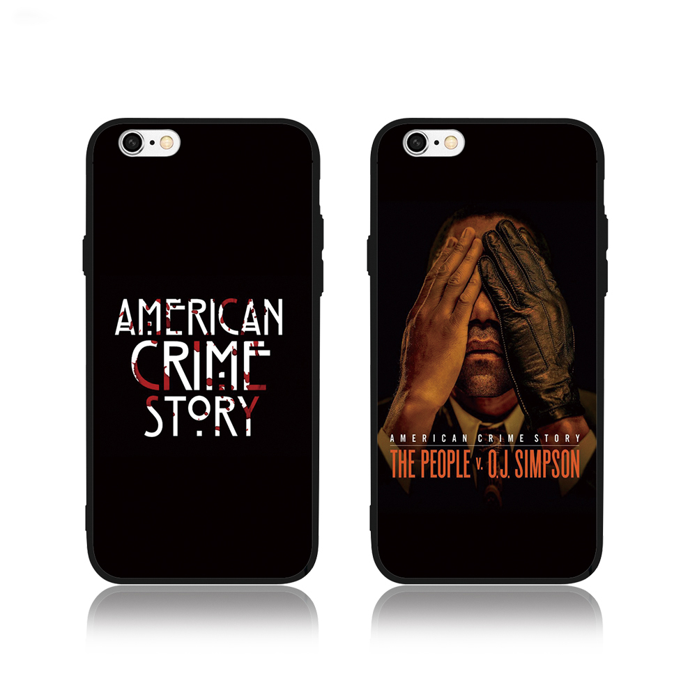 FATPERSON Best case For iPhone X 10 5 5S SE 6 6S 7 8 Plus American crime story Cover For Samsung Galaxy S8 S9 S7edge Phone shell