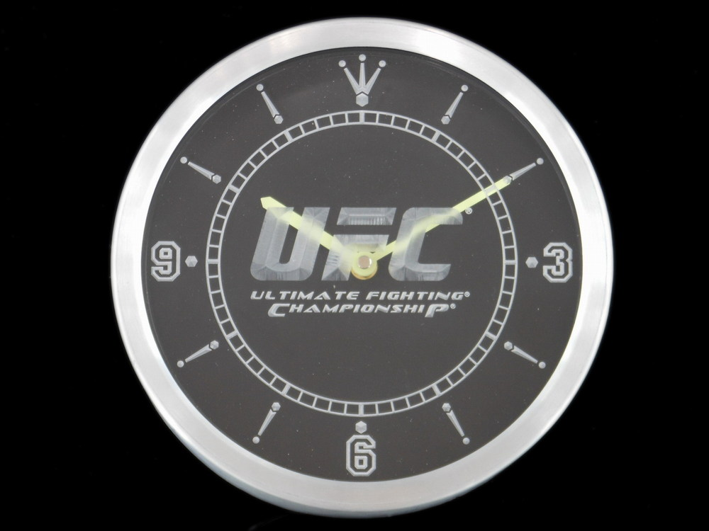 nc0137 Fight Club Game Man Cave Neon Sign LED Wall Clock