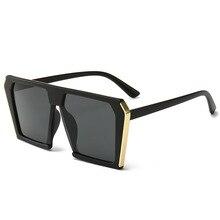 Vintage Big Square Sun Glasses for Women Sunglasses Luxury Brand Designers Eyewear UV400