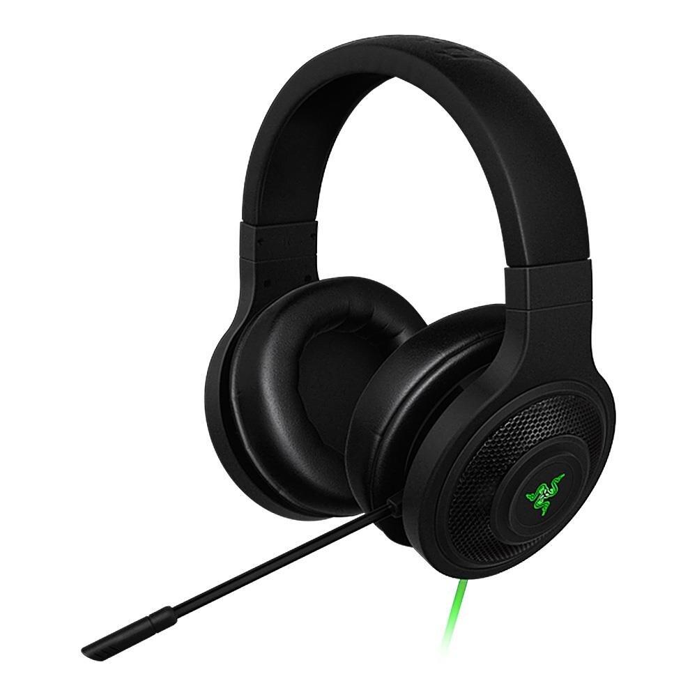 Razer Kraken esencial auriculares con aislamiento de ruido-oído analógico de 3,5mm con micrófono para PC/portátil/teléfono 1,3 m negro auriculares para juegos - 3