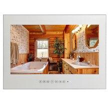 Souria 1080 P 27 дюймов Full HD Ванная комната ТВ Стекло исчезающего зеркало ТВ Санузел ТВ IP66 Waterpoof в Ванная комната стены