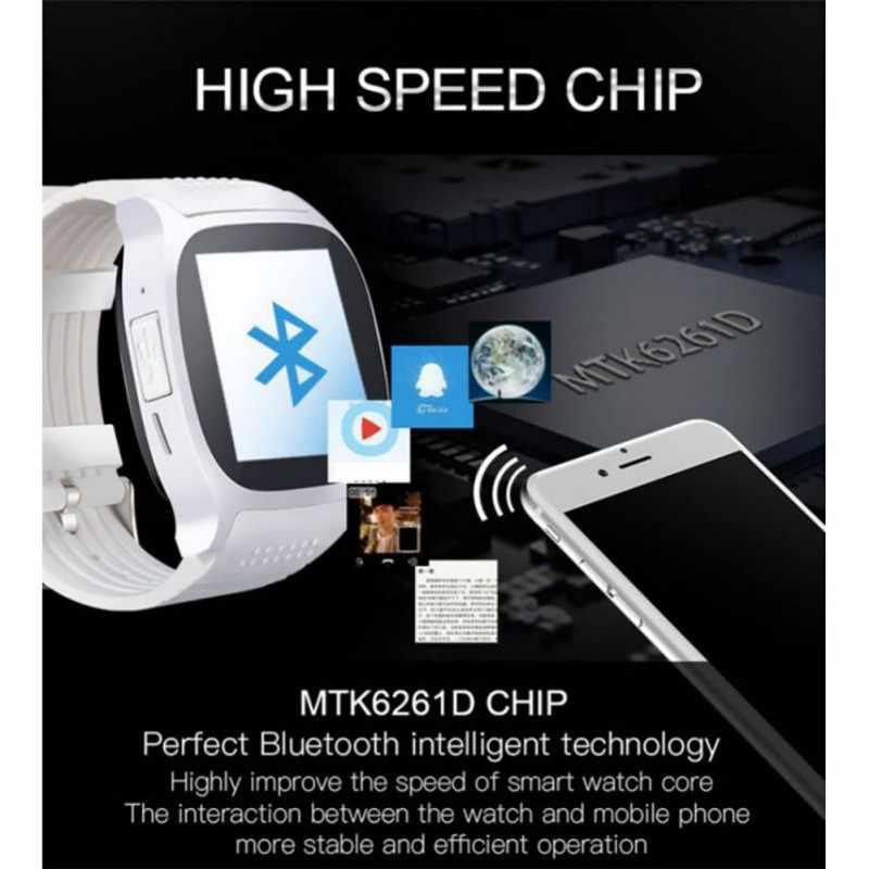 Многоязычные Новые смарт-часы Смарт Bluetooth спортивные часы T8 шагомер мобильный телефон Android часы Поддержка SIM TF карты вызова