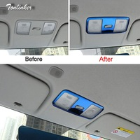Tonlinker Cover Case Sticker For KIA K2 RIO 2017 18 Car Styling 1 Pcs Stainless Steel