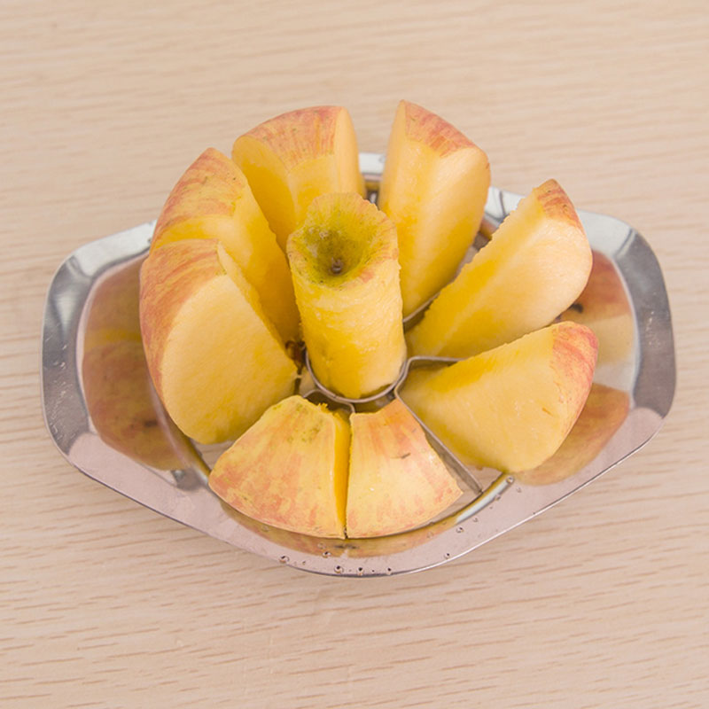 The new all stainless steel cut apple fruit cutters tools Divider Corer Pear Cutter Fruit Vegetable Kitchen Accessories 2017 New