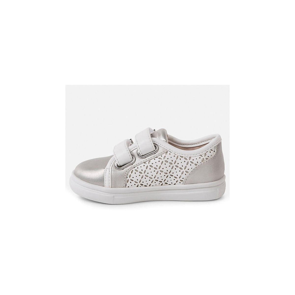 MAYORAL Kinderen Casual Schoenen 10642698 sneakers loopschoenen voor kinderen Zilver sport Meisjes PU - 2