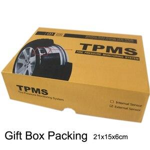 Image 5 - Система контроля давления в шинах Tpms Sensorsolar, умный беспроводной 4 колесный внешний контроль давления в шинах