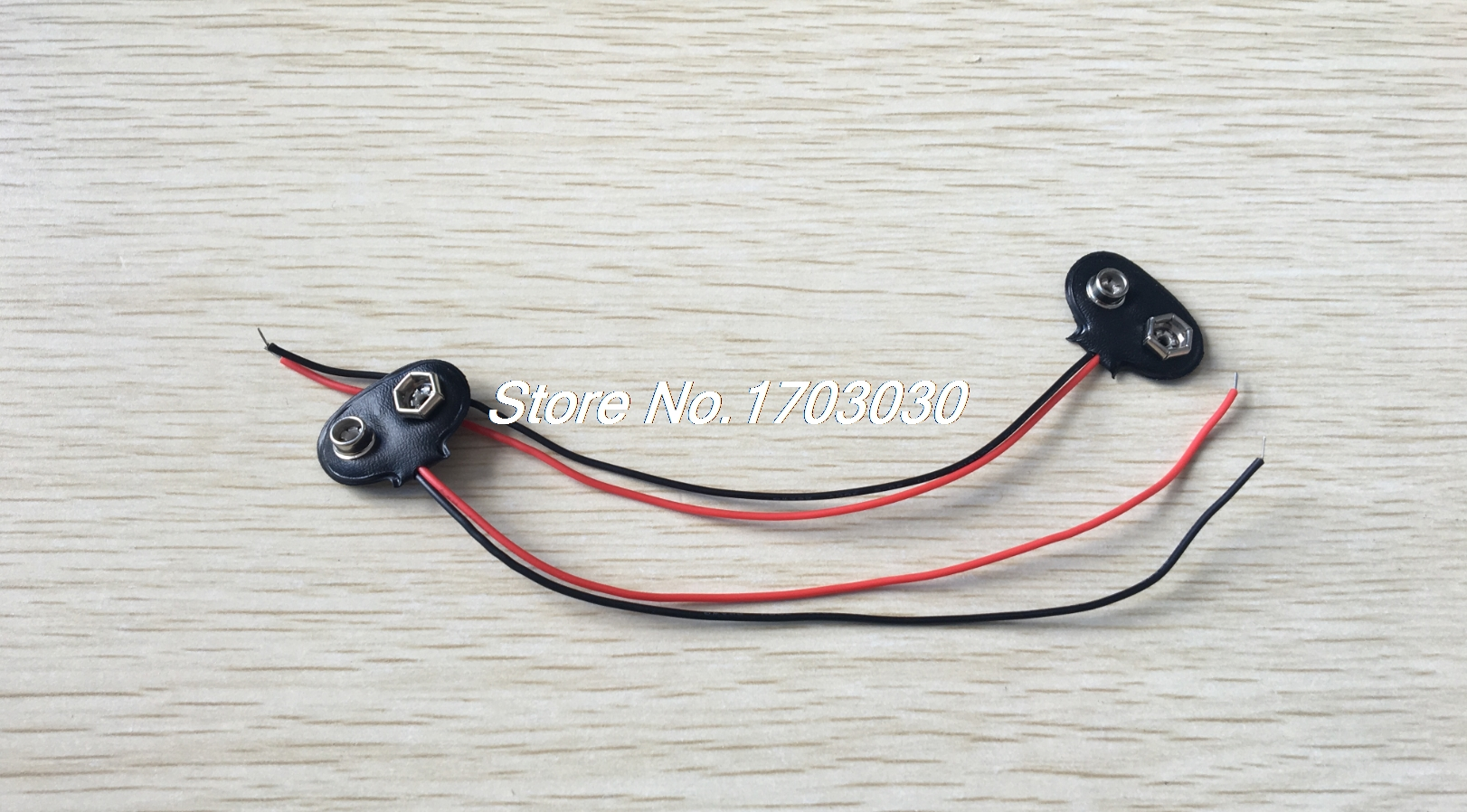 1000 pcs 9V 9 VOLT SNAP ON BATTERY CLIP CONNECTOR 10cm 1000 pcs 9v 9 volt snap on battery clip connector 10cm