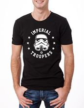 IMPERIAL TROOPER T-SHIRT STAR WARS HELMET OBEY RETRO POSTER BLACK YOLO Free shipping