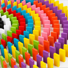 100pcs Lot Board Game for Kids Gift Wooden Domino Set Non-toxic Painting Children Toys Dominos
