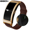Eiison Heart Rate Blood Pressure Smart Bracelet CK11 Bluetooth Sleep Tracker Drink Reminder Call Reminder Band for iOS Android