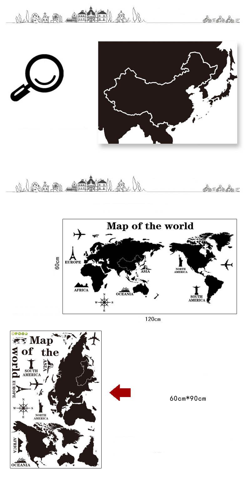 HTB1xSYDNXXXXXbfXVXXq6xXFXXXW Poster Letter World Map Quote Scratch Map Vinyl Art Decals