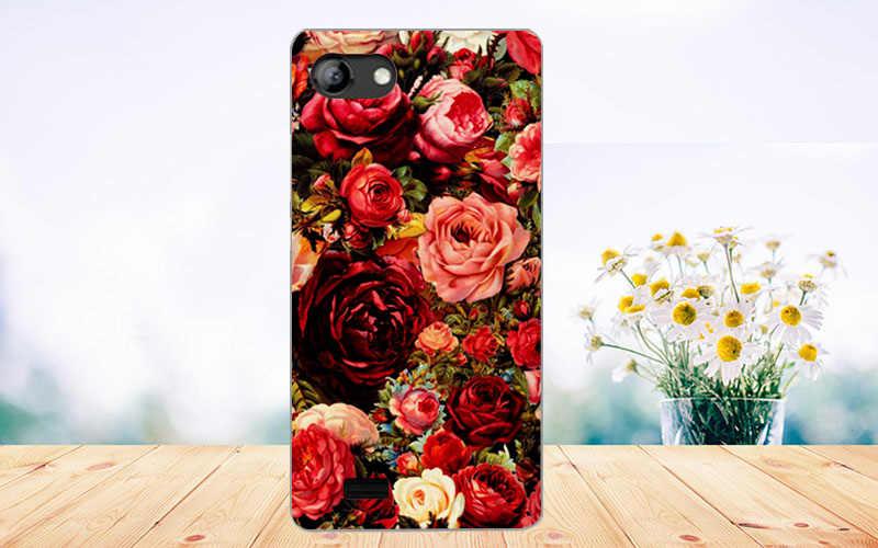 Dla Vertex Impress szczęście przypadku wysokiej jakości moda kolorowe miękkie TPU malowana obudowa telefonu przypadku dla Vertex Impress szczęście etui na telefony
