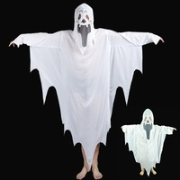 New Adults Men Kids Boys Ghost Devil Vampire Ghost Cosplay Costume Halloween Carnival Performance Costumes Party