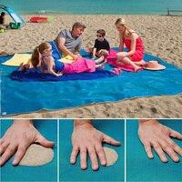 HAKOONA Zand Gratis Mat Strand Mat Blauw Magic Strandlaken Zand Gratis Anti Zand Hot Product