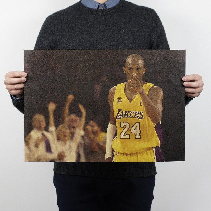 NBA Basketball Star Kobe Bryant Dunking Posters Home
