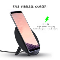 Newest Wireless Charger 10W Fast Qi Wireless Charger For IPhone 8 8Plus X SAMSUNG Galaxy S8