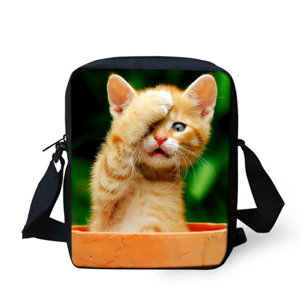 FORUDESIGNS/женская маленькая сумка через плечо с объемным рисунком собаки чихуахуа, модные женские сумки-мессенджеры, сумки через плечо - Цвет: 6945E
