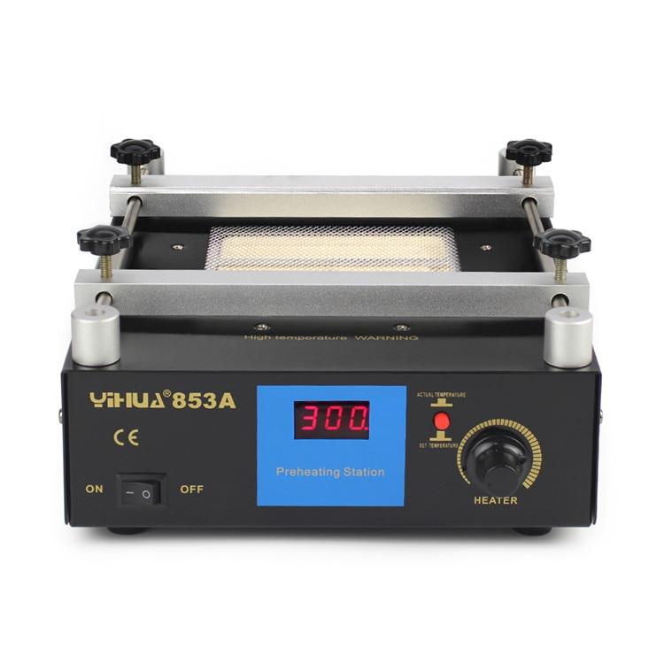 1PC Constant temperature lead-free preheating BGA digital display 600W 220V 50Hz 853a bga constant temperature lead free preheating stations