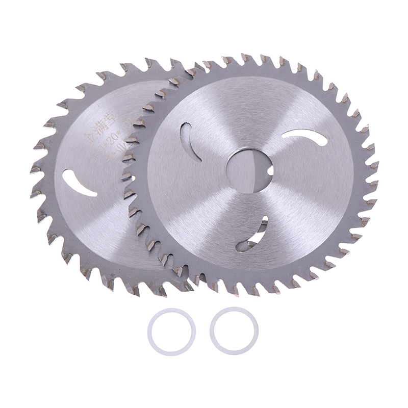 4inch 30t/40t Circular Tungsten Steel Alloy Saw Blades For Wood Aluminum Cutting Size:Outer Diameters:110MM,Hole Diameter:20mm