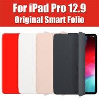 MRX72FE/A Original Style Smart Folio For iPad Pro 12.9 2018 Case Flip Cover Magnetic Leather