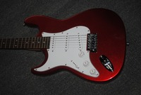 In 2018, we will sell China electric guitar Musical Instruments wholesale new branch of the store guitar /Vicers brand metal red