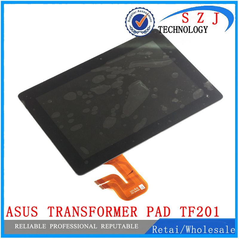 New 10.1'' case HSD101PWW2-A01 Touch Screen+LCD Digitizer with frame For Asus Transformer Pad TF201 TCP10C93 V0.3 free shipping new 10 1 inch case for asus memo pad 10 me102 me102a v3 0 mcf 101 0990 01 fpc v3 0 touch panel screen digitizer free shipping