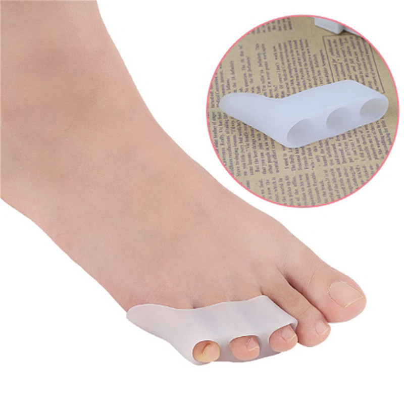 1 Double Toe Separator Foot Care 3 Hole Toe Small Orthopedic Foot Protection Toe Pedicure Tool