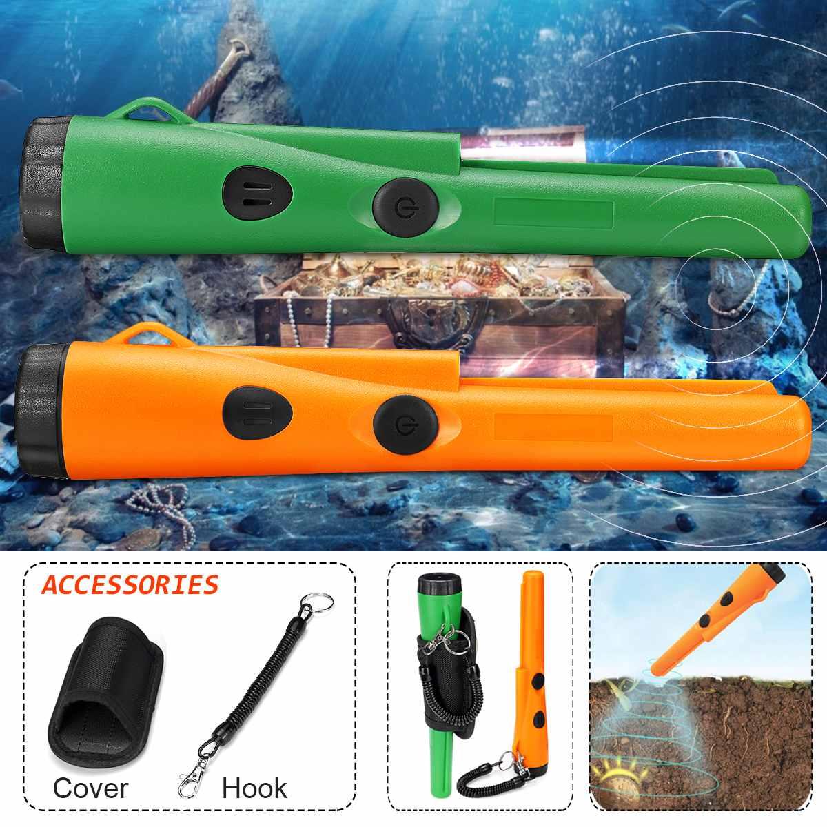 Nouveau détecteur de métaux résistant à l'eau professionnel détecteur de métaux en or LED détecteur de trésor testeur automatique