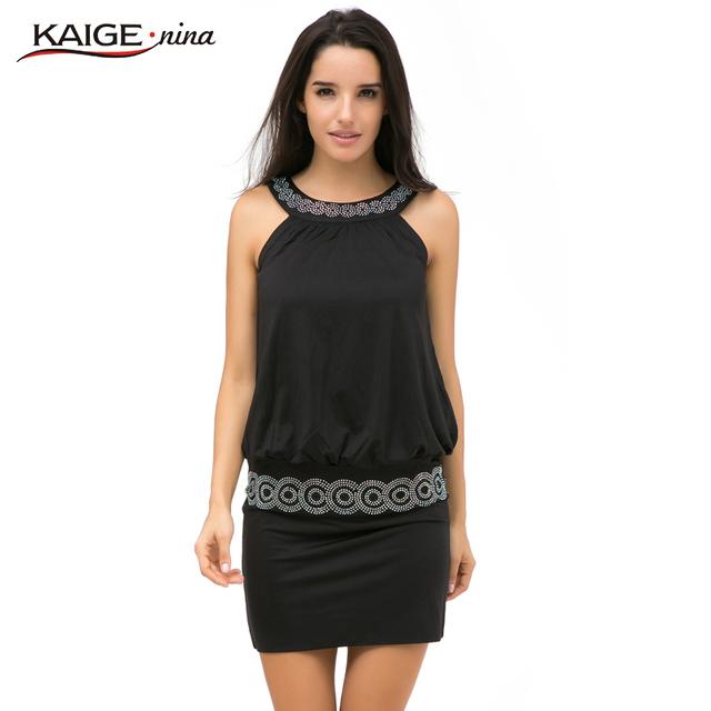 New Summer  Sexy Women Casual Dress Sleeveless Slim Fashion Bodycon   Party Dress Vestidos Free Shipping 2291
