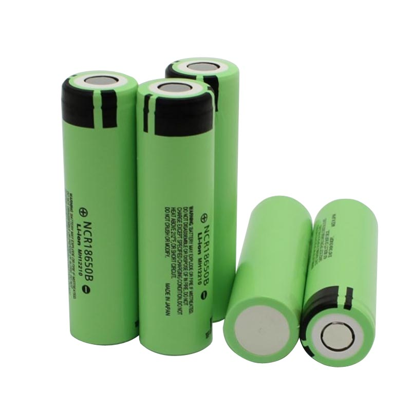 Original 18650 Battery 3.7V 3400mah NCR18650B Lithium Rechargeable Batteries