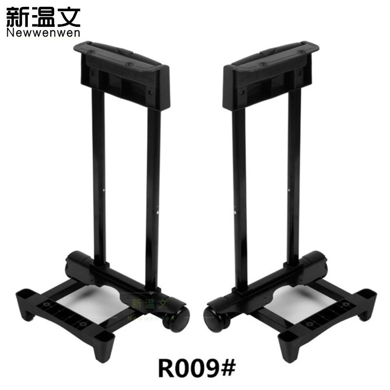Replacement aluminum Built - in Rod Trolley Suitcase Handle,Luggage parts Handles for Luggage Trolley wheels for suitcases R009# high quality luggage accessories replacement external rod handles for suitcases flat carry suitcase grip luggage handle b095