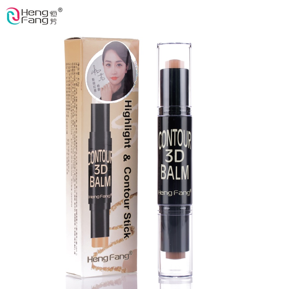 2 in 1 Complexion + Embellish Highlighter و Shimmer Stick Concealer Bronzer 3 Colour 6.2 6g آرایش صورت آرایش صورت HengFang # H8449