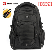 2015 Swiss Backpack Military Multifunctional Large Lightweight Quality Men Waterproof Travel 17 Laptop Backpacks