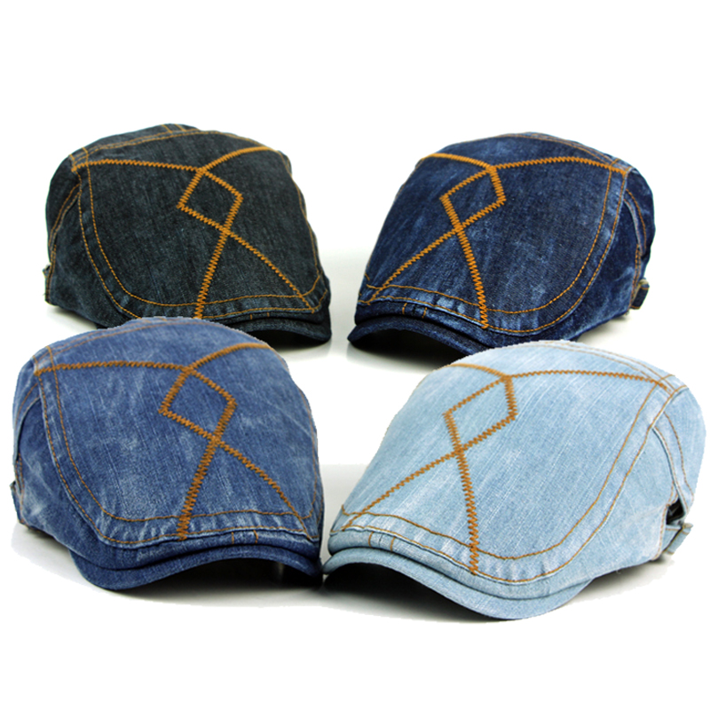 Fashion Spring Summer Jeans Hats for Men Women High ...