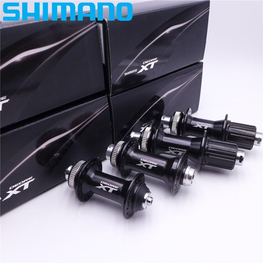 SHIMANO HB M8000 FH M8010 32 Trou VTT Moyeux Avant Arrière Roue Libre QR 135*10mm E Thru 100 15mm 142 12mm Boost 110mm 148mm
