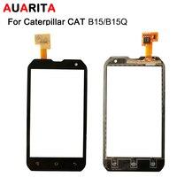 1pcs Lot Touch Screen For Caterpillar CAT B15 B15Q B 15 15Q Touch Screen Perfect Repair