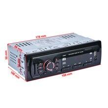12 В Bluetooth Авто 1 DIN Стерео FM Радио MP3 аудио плеер Aux Вход приемник sd usb MP3 Радио в тире