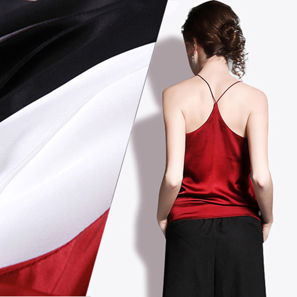 Summer Style Sleeveless Silk Women Tank Tops Sexy Deep V Neck Black Camisole Tank Casual Party Girls Tops Black, Red, White by Jampelle