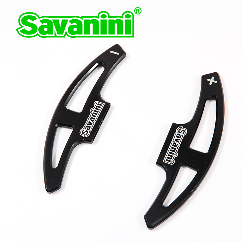 Volante de aluminio Savanini DSG Shift paddles Shifter Extension para - Autopartes - foto 4