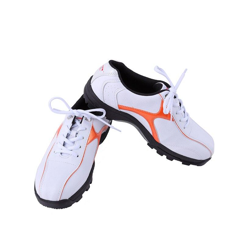Pgm/мужские туфли для гольфа из искусственной кожи; дышащая Спортивная обувь; водонепроницаемые кожаные кроссовки; мужские легкие туфли для
